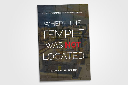 Where the Temple Was Not Located Booklet